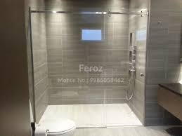 Bathroom Shower Enclosures Suppliers by Glass Bathroom Partitions For Bathroom Doors Hyderabad Shower