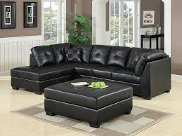 Contemporary Black Leather Sofa Black Couch Black Leather Couch Set