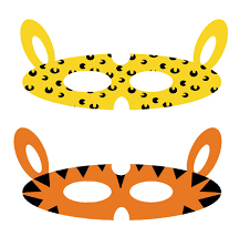 jungle animals jungle masks printables printable jungle animal
