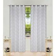 2 Tone Curtains Chevron Curtains