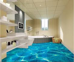 2015 new design 3d bathroom tile for floor or wall with high