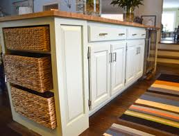 painting a kitchen island and improved kitchen island