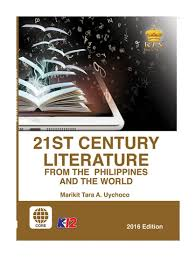 century 21 si e social 21st century literature from the philippines and the senior