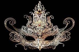 masquerade mask filigree venetian masquerade mask black handmade wire mask