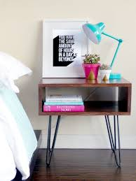 How To Make A Wooden Bedside Table by Best 25 Diy Bedside Tables Ideas On Pinterest Diy Furniture