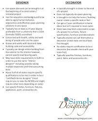Requirements For Interior Designing Designer Vs Decorator Life As An Interior Designer Part 1