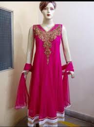 ladies full length anarkali dresses with stone work buy ladies