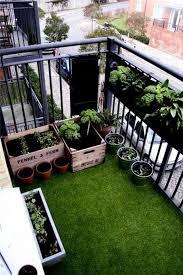 balcony garden design ideas fake grass balcony gardening and