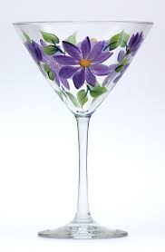 margarita glass cartoon 800 best painted glassware images on pinterest painted wine