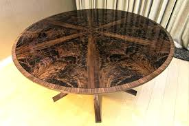 expandable dining table plans fashionable expanding round dining table somerefo org