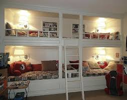 Built In Bunk Bed Built In Bunk Bed Plans Simple With A Pop Of Colour Bunk Beds