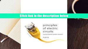 read online principles of electric circuits conventional current