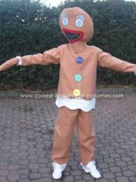 Shrek Halloween Costumes Adults Coolest Gingerbread Man Costume Gingerbread Man Costumes
