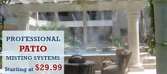 Patio Misting Kits How To Select The Best Outdoor Misting Systems Mist Cooling Blog