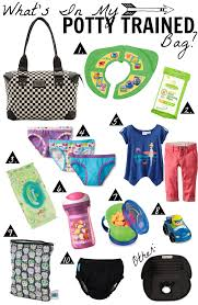 Hawaii travel potty images What 39 s in my potty trained bag png