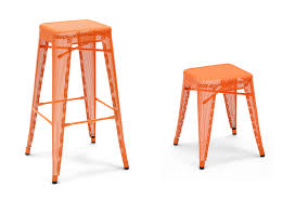 Tolix Bar Table Tolix Tall Stackable Tabouret Counter Stools And Barstools