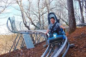 alpine coaster pigeon forge tn the coaster at goats on the roof