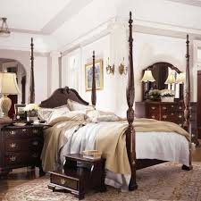 Bedroom Furniture Rochester Ny by Carriage House Queen Carved Panel Rice Bed By Kincaid Furniture