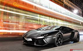 Lamborghini Aventador Matte Black - video lamborghini aventador tears through london at 100mph