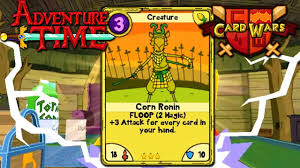 wars cards card wars adventure time corn ronin chest episode 7