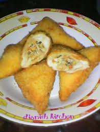 cara membuat donat isi ayam 14 resep roti tawar goreng isi ayam dan sayuran jpg 730 960 love