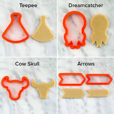thanksgiving cookie cutters boho chic pow wow party cookies semi sweet designs