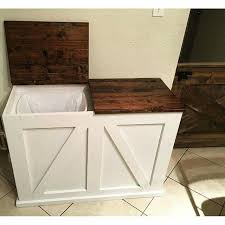 built in trash can cabinet teds woodworking plans review ana white tilt and woodworking