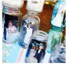 jar decorations for weddings photo in jar centerpieces budget brides guide a wedding