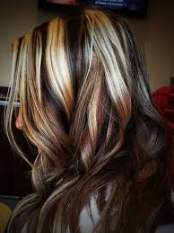 blonde high and lowlights hairstyles brown hair with platinum blonde highlights hairstyles color