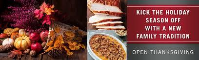 enjoy thanksgiving dinner at ruth s chris steak house