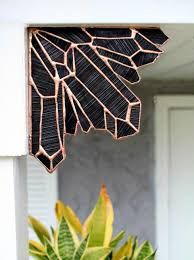 obsidian stained glass crystal corner stained glass goth