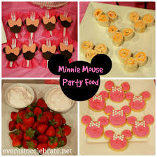 minnie mouse food see all the games decorations and food ideas