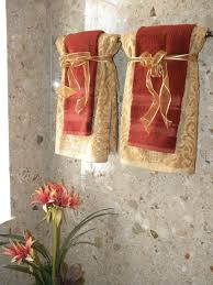 towel decorating ideas bathroom hanging decorative towels in bathroom google search home sweet