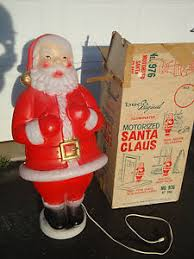 Blow Mold Christmas Decorations Australia by Beco 976 Motorized Santa Claus Blow Mold Original Motor Box