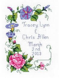 lizzie kate marriage a cross stitch kit k55 123stitch com