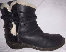ugg australia womens caspia ankle boots with leather wrap ties ugg caspia boots ebay