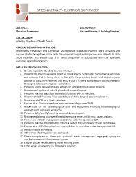 Supervisor Job Description Resume by 19 Sales Supervisor Job Description Resume Audit Manager Resume