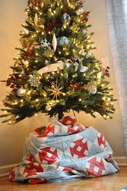 Christmas Tree Skirt Burlap Jessica Stout Design Holiday Decorating Day 1 How To Decorate