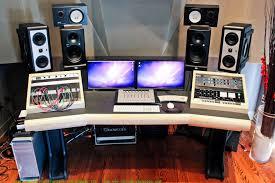simple home recording studio desk u2014 all home ideas and decor new