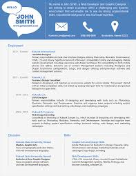 Smart Resume Sample by Resume Resume Layout Template