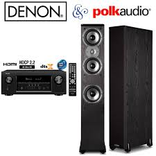 f d home theater system denon avr s920w 7 2 4k hd receiver polk audio 2 tsi400