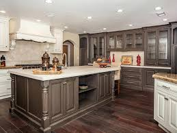 Kitchen Cabinet Painting Ideas Pictures Kitchen Collection Brilliant Brown Finished Cabinets Also Marble