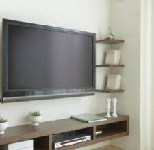 Tv Wall Mounts With Shelves Best 20 Tv Mount With Shelf Ideas On Pinterest Mounted Tv Decor