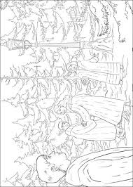 kids fun 14 coloring pages narnia chronicles