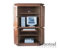 Computer Desk Hard Wood Custom Built Hardwood Furniture By Homestead Furniture Made In Usa