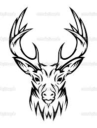 awesome tribal deer design