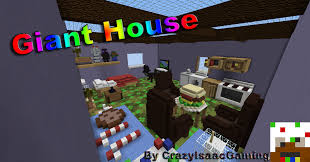 Giant Map Giant House Free To Use For Servers Barely Any Crediting Needed