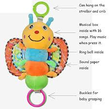 baby stroller toys hanging musical toy for 0 6 year old baby