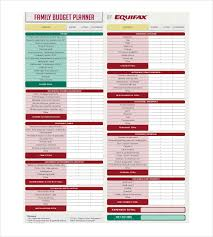 13 budget planner templates free sample example format