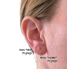 tiny hoop earrings tiny hoop earrings solid 925 sterling silver 8mm 22 handmade